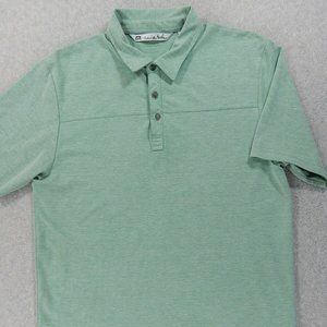 Travis Mathew Short Sleeve Polo Shirt (Mens Large)